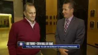 A preview of Joe Torre on his Hall of Fame induction