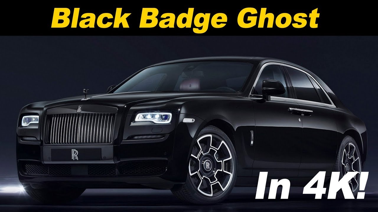 2018 Rolls Royce Black Badge Ghost First Drive Review In 4k Uhd