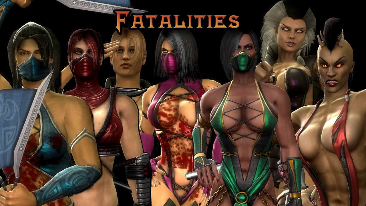 Mortal Kombat 9 Pc - Every Female Fatality - Youtube-6770