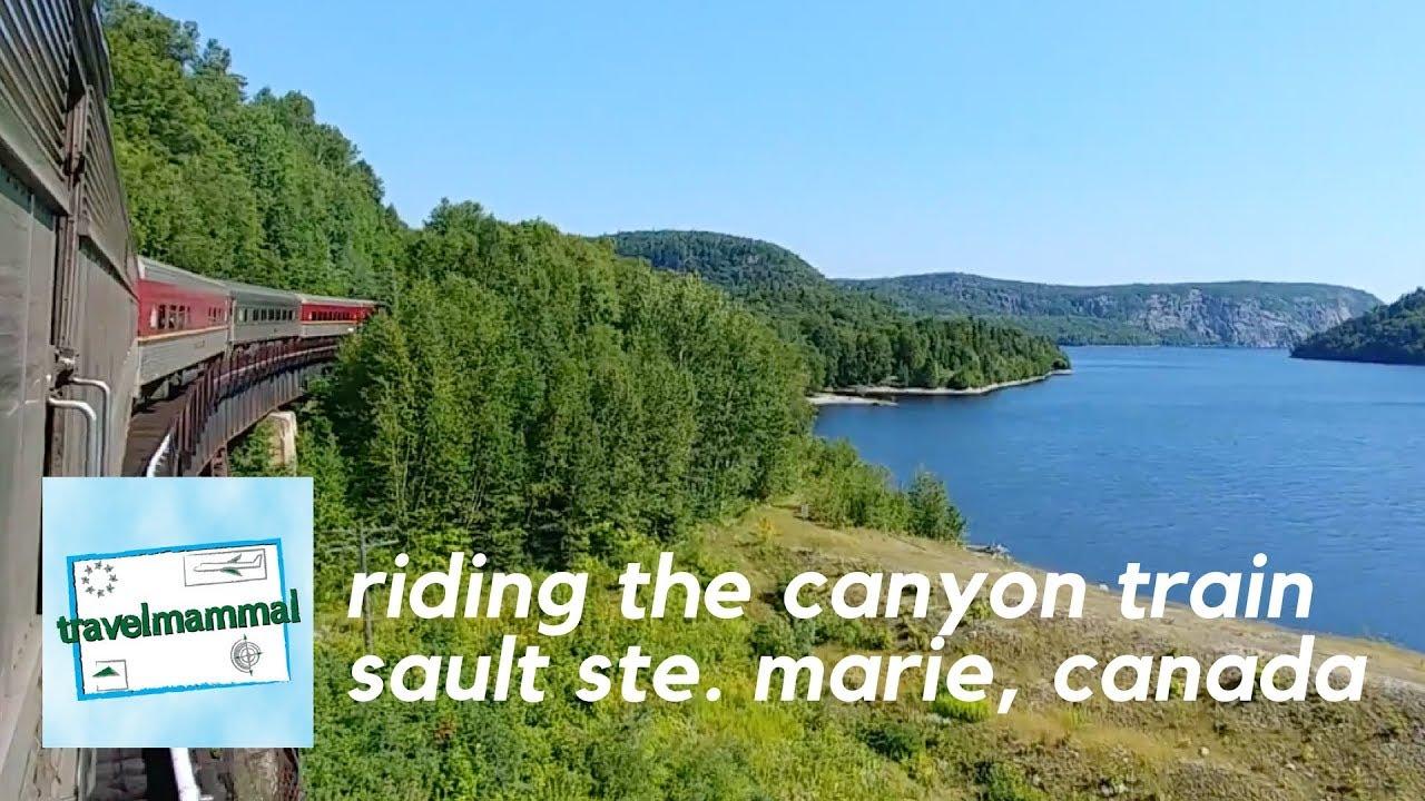 Agawa Canyon Tour Train Sault Ste Marie Ontario Canada
