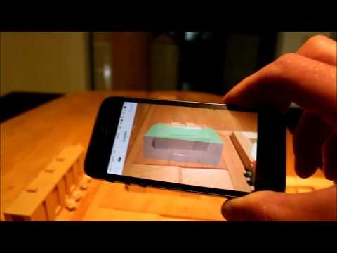 Augmented Reality with 3D CAD model as tracker