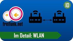 Im Detail: WLAN - Betriebsarten, Frequenzen und Freifunk [Deutsch/German]