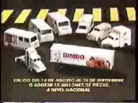Trailers For Less >> Comercial Camioncitos Bimbo 2 - Mexico - YouTube