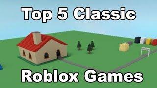 Top 5 Classic Roblox Games