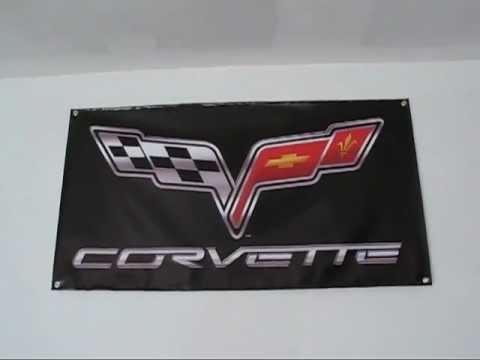 car guy garage,custom wall banners.m4v - YouTube