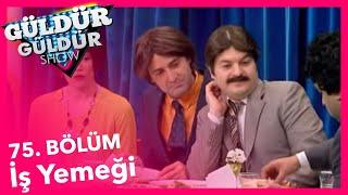 Güldür Güldür Show 75. Bölüm, İş Yemeği Skeci