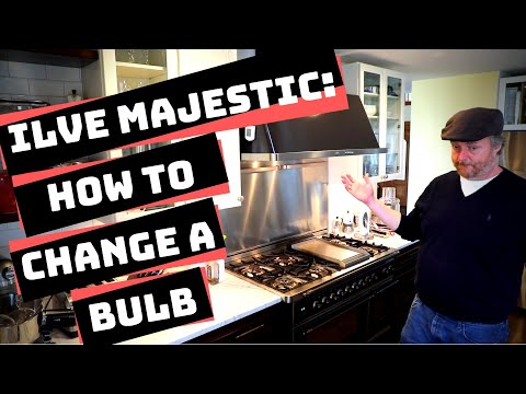 Ilve Majestic: How to Change a Bulb