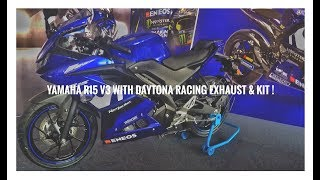 YAMAHA R15 V3 KIT ACCESSORIES COST KIT PRICE