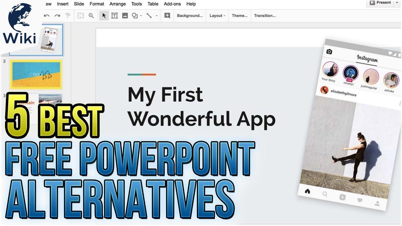 5 best free powerpoint alternatives youtube