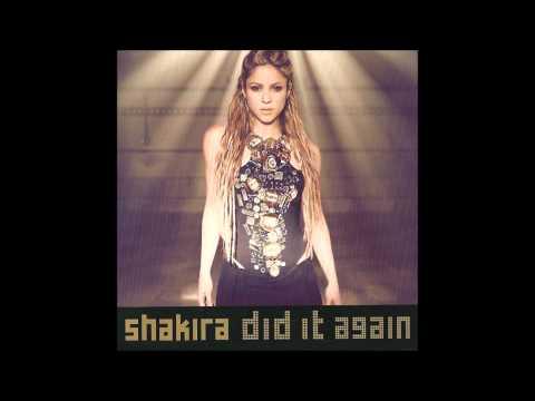 Shakira - Did It Again Karaoke / Instrumental with backing vocals and lyrics