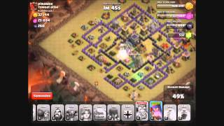 Clash of Clans: 1 Star war attack