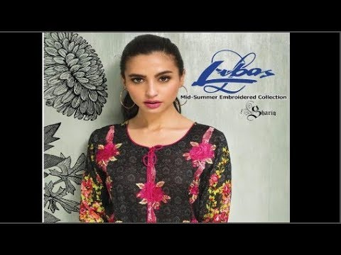 Libas Mid Summer Embroidered Collection 2017 By Shariq Textiles