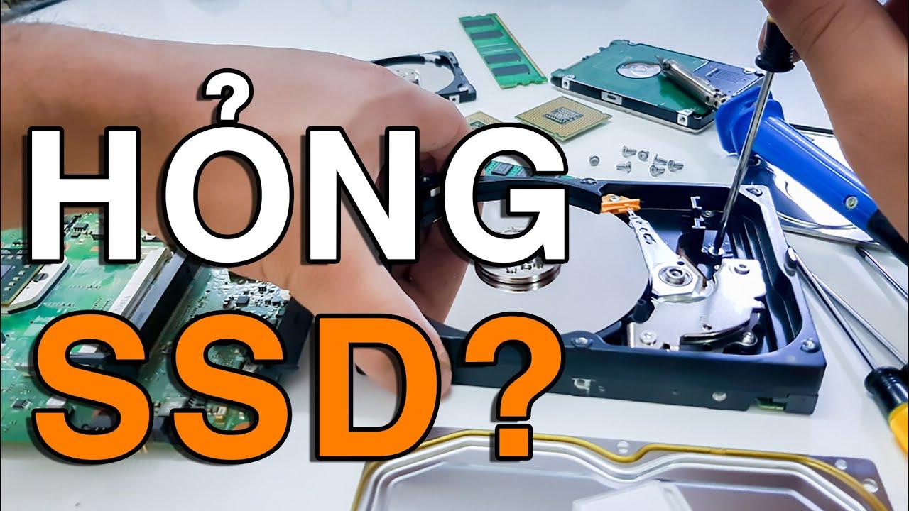 5 DẤU HIỆU cho thấy Ổ cứng SSD của bạn sắp TẠCH 😱😱😱