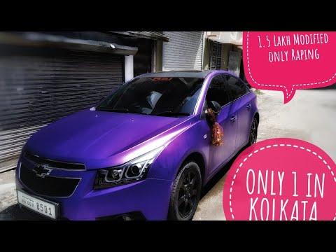 ONLY 1 IN KOLKATA 🤫  Full Modified Chevrolet Cruze  Raju Majumdar
