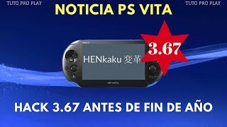 PS VITA - POSIBLE SALIDA DE HACK PARA 3.67 MÁS PRONTO DE LO ESPERADO!