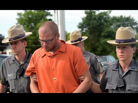 Justin Walters, accused of killing wife and NY State Trooper Joel Davis, arraigned in court