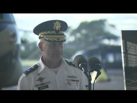Pearl Harbor 75th: Wheeler Airfield Wreath Laying