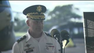 Pearl Harbor 75th: Wheeler Airfield Wreath Laying