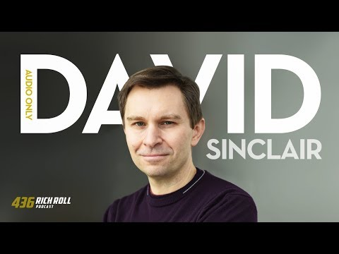 David Sinclair Is Extending Human Lifespan | Rich Roll Podcast