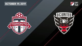MATCH HIGHLIGHTS | Toronto FC vs D.C. United - October 19, 2019