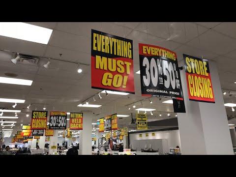 LIVE - Sears Canada's Liquidation