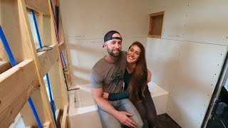 Overcoming Obstacles With The Bathroom Build!