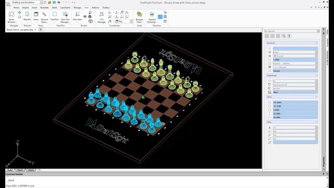 Quick Look: DraftSight 2019 Premium with 3D Capabilities