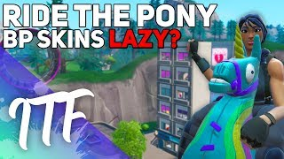 Players MAD Over Free Ride the Pony and Skins in Battle Pass (Fortnite Battle Royale)