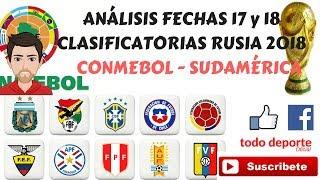 FIFA 17 Clasificacion Mundial Sudamerica Venezuela vs Bolivia @ CTE Cachamay Colombia vs