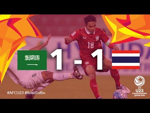 SAUDI ARABIA v THAILAND: AFC U23 Championship (Group Stage)
