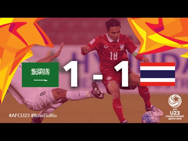 Video: U23 Ảrập Xêút vs U23 Thái Lan