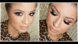 Holiday Makeup: Neutral Smokey Eyes Thumbnail