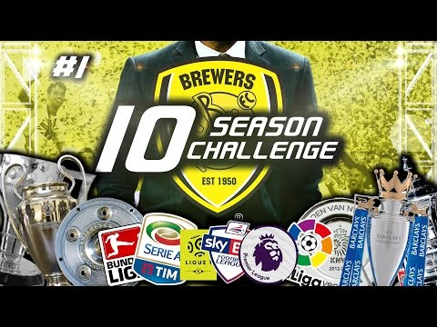 10 Season Challenge | Episode 1: A New Challenge Awaits! | Football Manager 2017