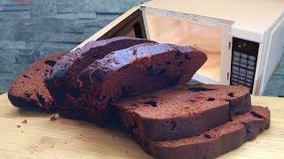 Шоколадный кекс на кефире в микроволновке: обалденно вкусно и всего лишь 6 минут