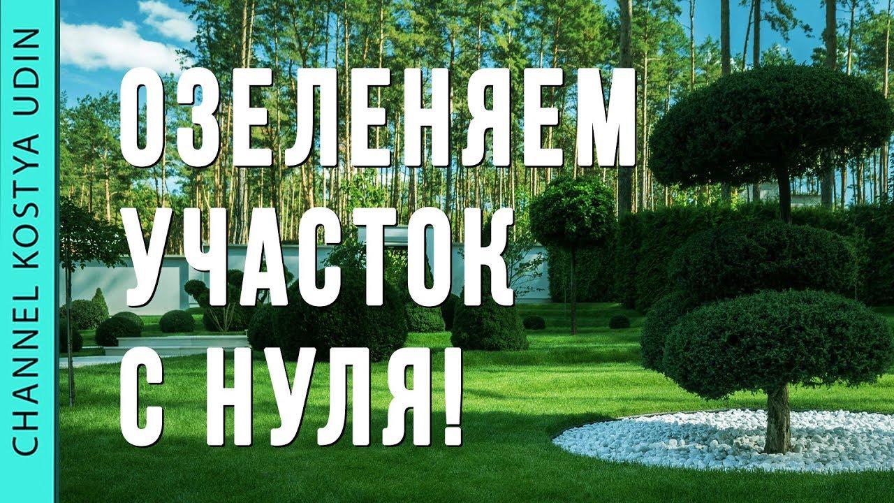 """Озеленяем участок с Нуля (#LANDSCAPE) Ландшафтный дизайн. Садовый центр """"Ева"""""""