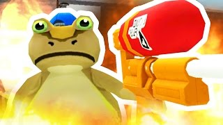 NEW FLAMETHROWER! NEW UPDATE! - Amazing Frog - Part 95 | Pungence