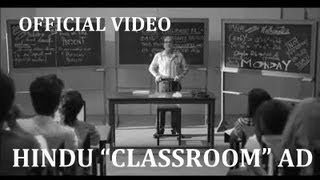 "The Hindu ""Classroom"" Ad [OFFICIAL] 