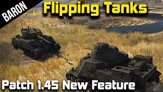 War Thunder 1.45 - Flipping Tanks, Tow Cables & Grappling Hook Tests! (M3 Lee & M4A2 Sherman)