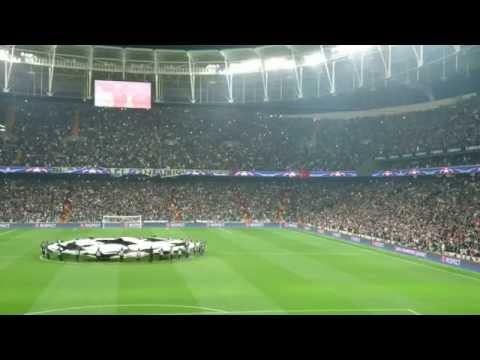Beşiktaş Benfica Vodafone Park Şampiyonlar Ligi Müziği