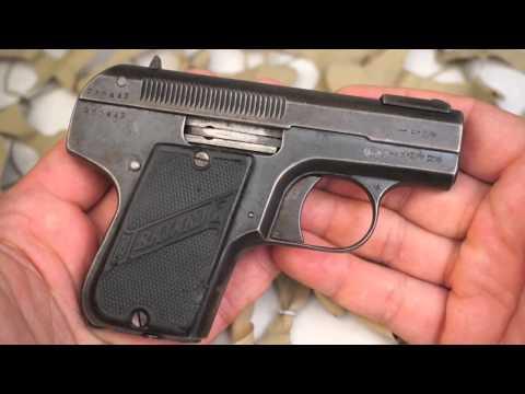 Bayard Peiper 32ACP Model 1908 Vest Pocket Pistol Overview - Texas Gun Blog