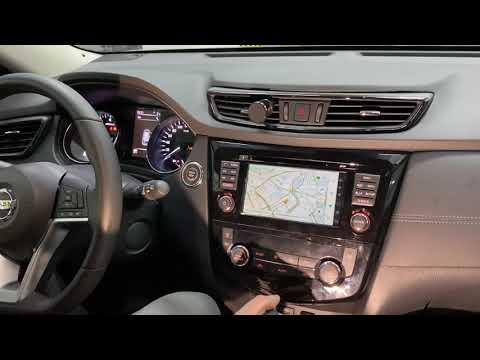 Nissan X-Trail / Qashqai - доп мультимедиа на штатном мониторе