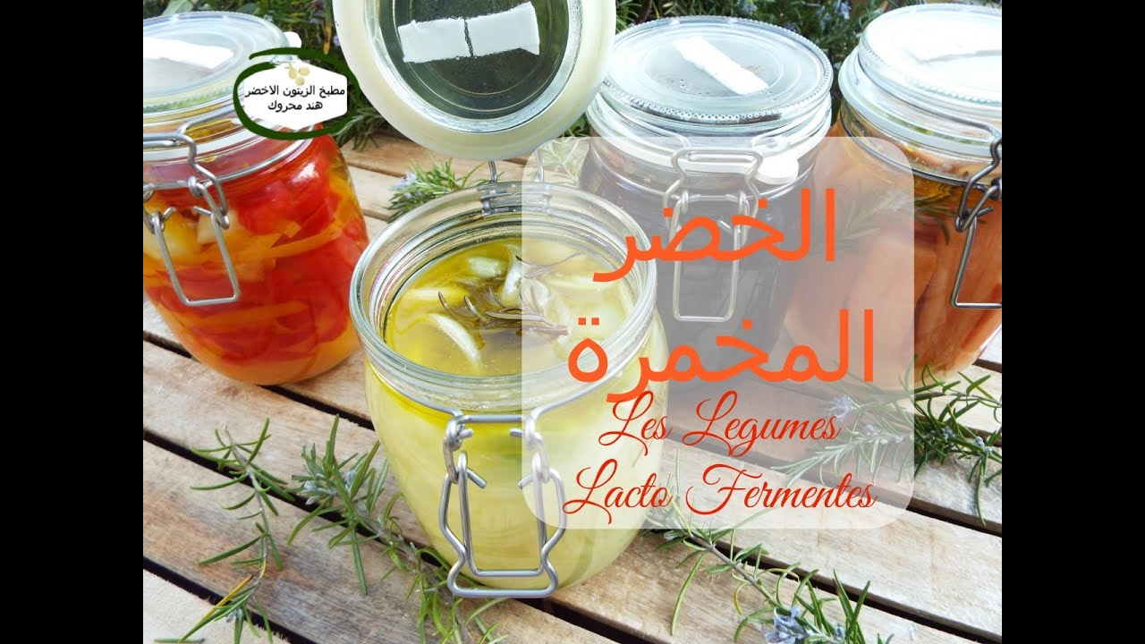 الخضر المخمرة  Les legumes LactoFermentès