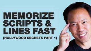 Kwik Brain Episode 23: Memorize Scripts & Lines Quickly (Hollywood Secrets Part 1)