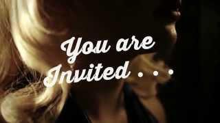 DeLuxe Beauty Parlour Invitation