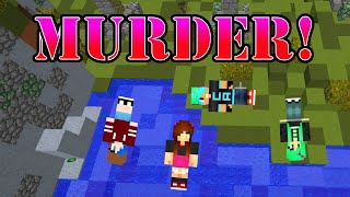 MINECRAFT MURDER GAMEPLAY | PARTY ZONE SERVER | SALLY, CHAD and DOLLASTIC