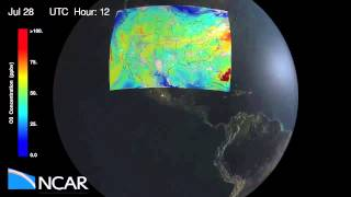 Hourly Atmospheric Pollution Observations from Geostationary Orbit