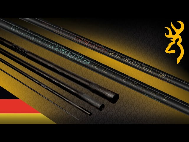 BLACK MAGIC ALLROUND & SPECIALIST POLE - HIGH END FEATURES - Top value for money