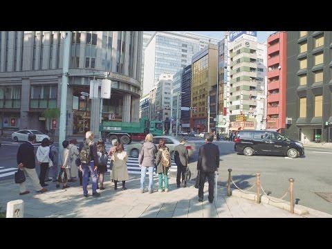 Walking from Kyobashi to Kanda, Tokyo Chuo-dori - Long Take【東京・京橋/神田】 4K