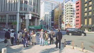 Walking from Kyobashi to Kanda, Tokyo Chuo-dori - Long Take【東京・京橋/神田】 4K thumbnail