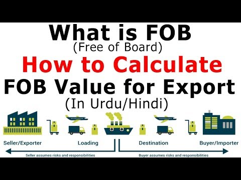 What Is FOB Price, How To Calculate FOB Value For Export (Complete Details in URDU)
